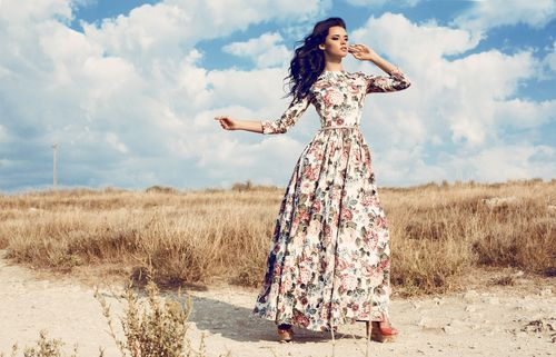Šaty po zem - ktoré šaty vybrať